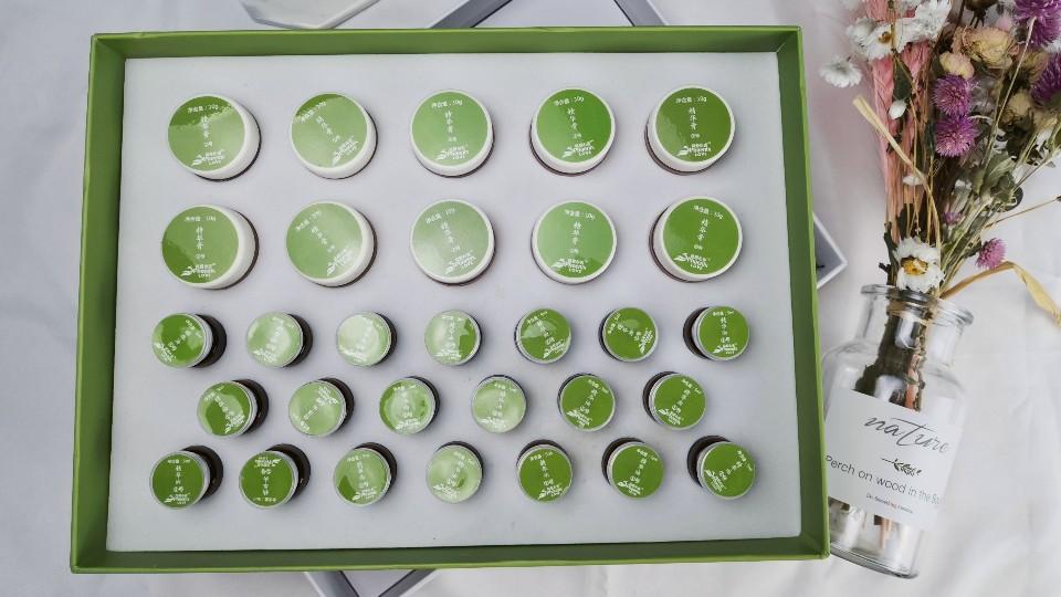 芳香世家精油加工厂与上海某美容院连锁机构按摩精油套盒OEM合作案例